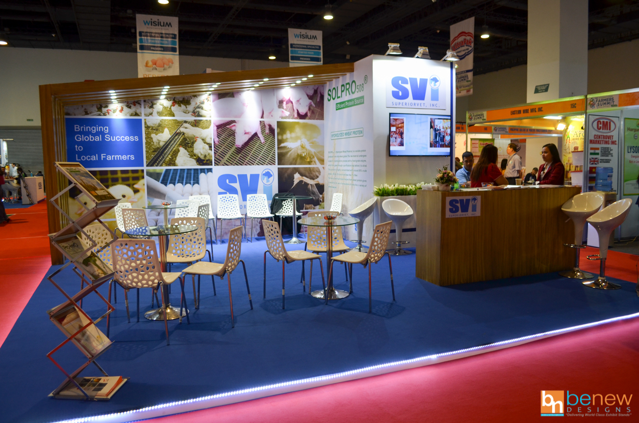 Superiorvet Exhibition Booth at the International Farmers Summit 2020